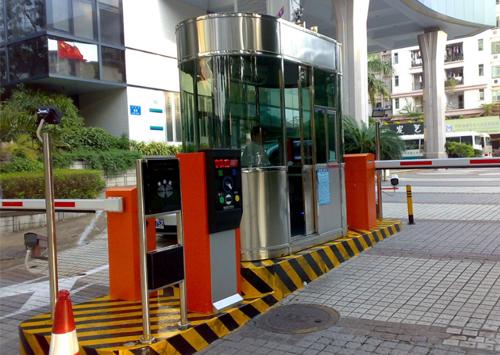 智能停车场系统道闸案例