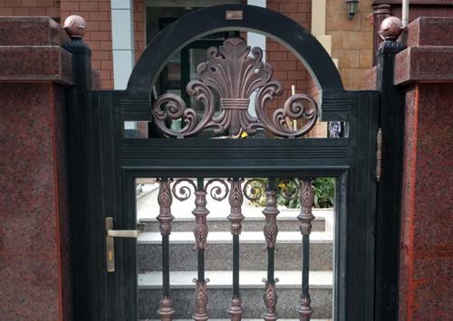铜车库门案例展示