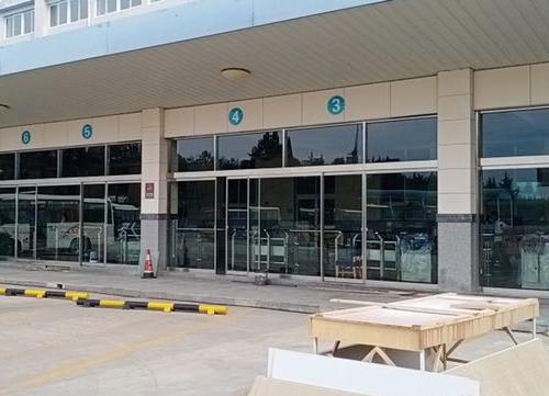 海阳汽车站自动门