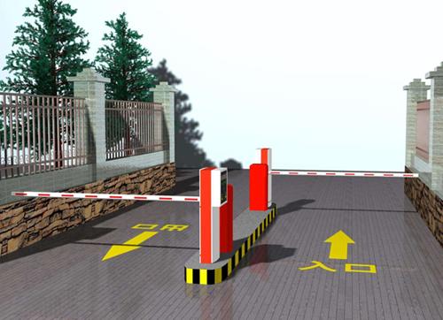 烟台停车场道闸系统