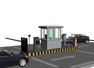 蓬莱智能停车场系统安装