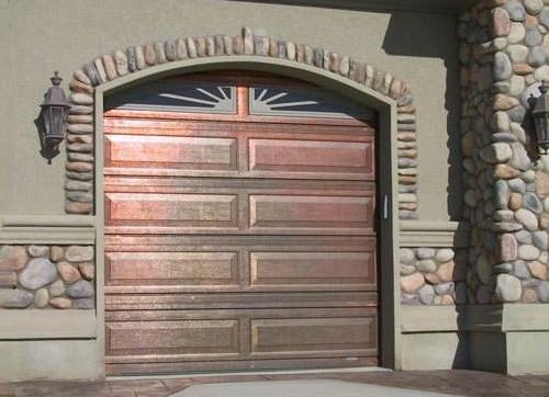 蓬莱铜车库门