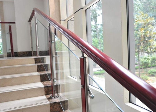 蓬莱不锈钢楼梯扶手