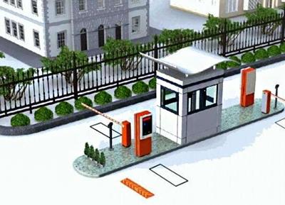 智能停车场系统道闸