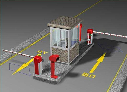 蓬莱智能停车场系统检测