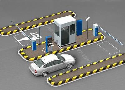 蓬莱停车场系统施工
